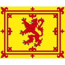 FLAG, SCOTLAND RAMPANT LION