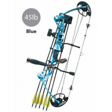 BOW, VULTURE PACKAGE RH45LBS COMPOUND - BLUE CAMO