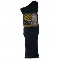 SOCKS, ARMY STYLE WOOL BLEND NAVY