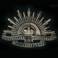 BADGE, AUSTRALIAN COMMONWEALTH MILITARY FORCES