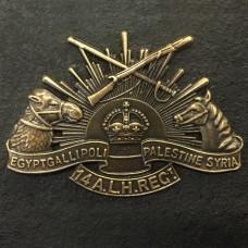 BADGE, 14TH AUSTRALIAN LIGHT HORSE REGIMENT