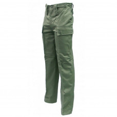 CARGO PANTS, USED GREEN