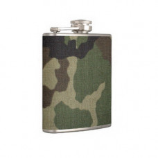 CAMO COVERED HIP FLASK