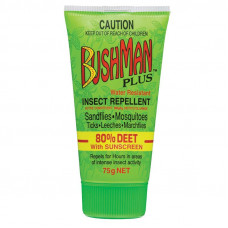 INSECT REPELLENT, BUSHMANS HEAVY DUTY GEL PLUS
