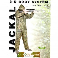 GHILLIE SUIT, ULTRALITE JACKAL WOODLAND