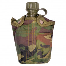 WATER BOTTLE, ARMY CANTEEN AND COVER