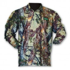 T-SHIRT, RIDGELINE SABLE AIRFLOW LONG SLEEVE COLLARED TOP