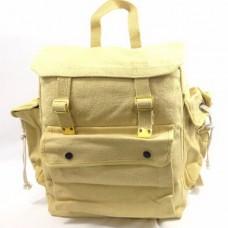 BAG, WEBBING BACKPACK BAG WITH 3 POCKETS