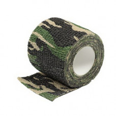 TAPE, SELF CLINGING WOODLAND CAMO