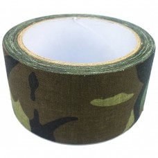 TAPE, FABRIC WOODLAND CAMO
