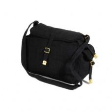 BAG, WEBBING SHOULDER BAG WITH 2 SIDE POCKETS