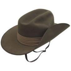 HAT, AKUBRA FUR FELT SLOUCH